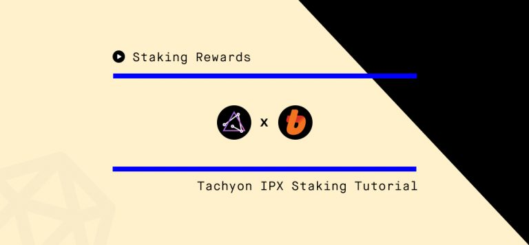 IPX Staking Tutorial Bithumb