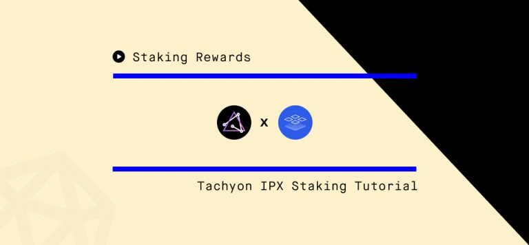 IPX Staking Tutorial ipxus.com