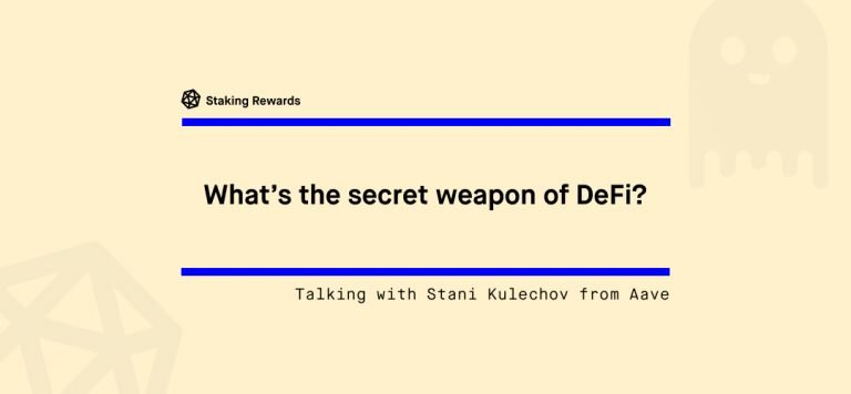 What is the secret weapon of DeFi?