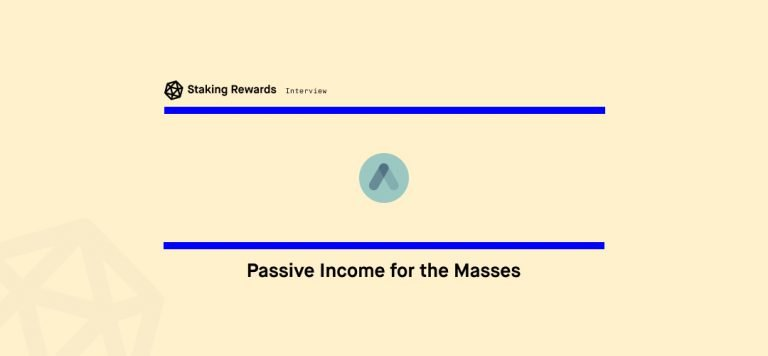 Passive Income for the Masses