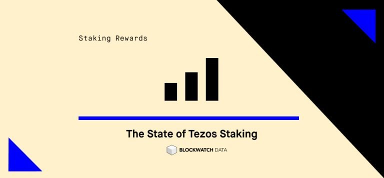 The State of Tezos Staking