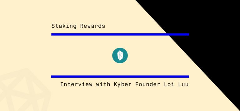Interview with Kyber Founder Loi Luu