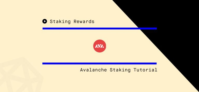 How to delegate AVAX with the Avalanche Wallet