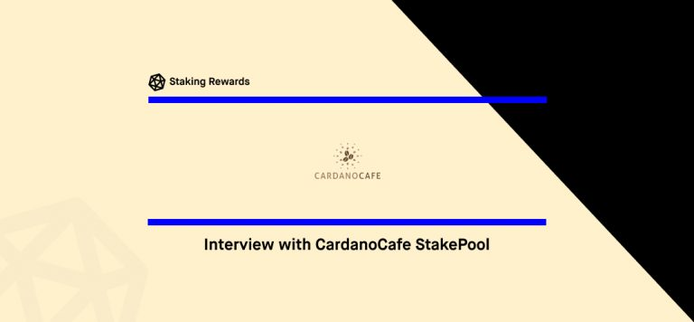 Meeting Chris, the Barista of the CardanoCafe StakePool