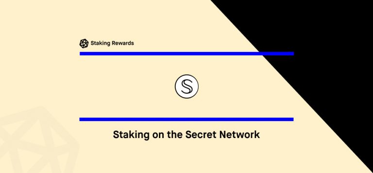 Staking on the Secret Network