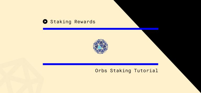 How to Stake ORBS! Step by Step Guide