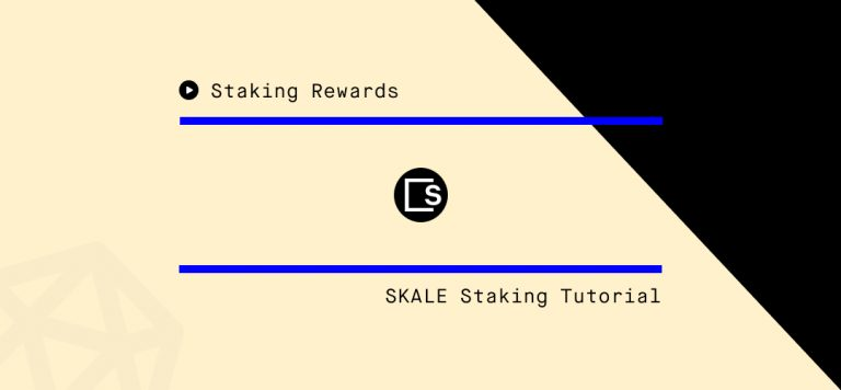 How to Stake SKALE – Step-by-Step Guide