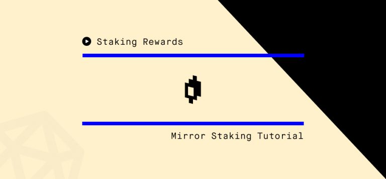 Step-by-Step Guide on How to Stake MIR Tokens