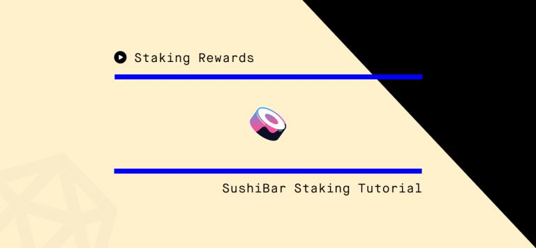 How to Stake SUSHI on SushiSwap