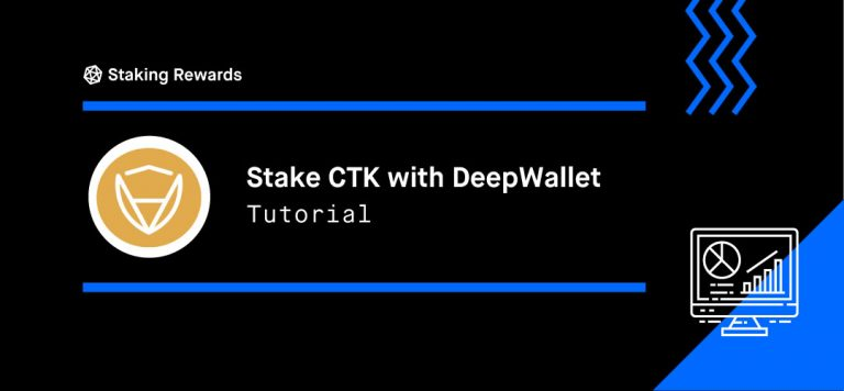 How to Stake CertiK (CTK) with DeepWallet