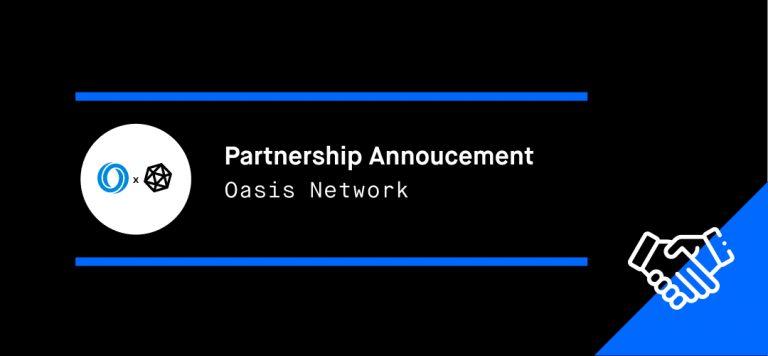 Oasis Network Partnership