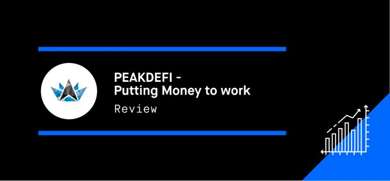 PEAKDEFI – Putting Money to work